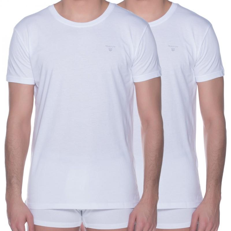 GANT 2-er Set Crew Neck T-Shirts Weiß