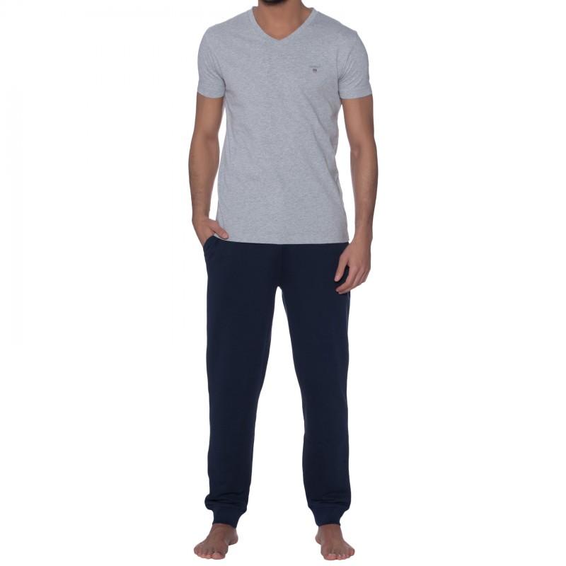 GANT T-Shirt  Grau